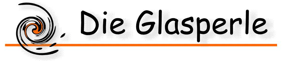 """Webshop """"Die Glasperle""""-Logo"""