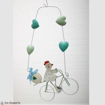 Chicken on Bicycle